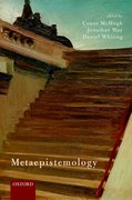 Cover for Metaepistemology
