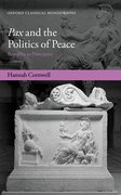 Cover for pax and the Politics of Peace