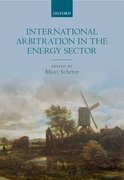 Cover for International Arbitration in the Energy Sector