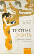 Cover for Textual Events