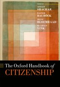 Cover for The Oxford Handbook of Citizenship