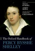 Cover for The Oxford Handbook of Percy Bysshe Shelley