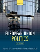 Cover for European Union Politics