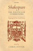 Cover for Shakespeare and the Politics of Commoners