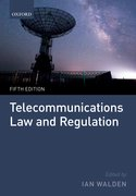 Cover for Telecommunications Law and Regulation