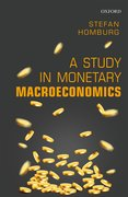 Cover for A Study in Monetary Macroeconomics