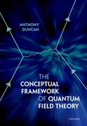 Cover for The Conceptual Framework of Quantum Field Theory