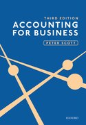 Cover for ACCOUNTING FOR BUSINESS 3E