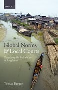 Cover for Global Norms and Local Courts