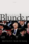 Cover for Blunder