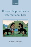 Cover for Russian Approaches to International Law - 9780198808046