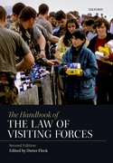 Cover for The Handbook of the Law of Visiting Forces - 9780198808404