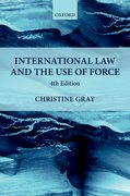 Cover for International Law and the Use of Force - 9780198808411