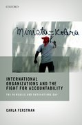Cover for International Organizations and the Fight for Accountability - 9780198808442