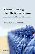 Cover for Remembering the Reformation