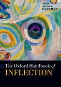 Cover for The Oxford Handbook of Inflection