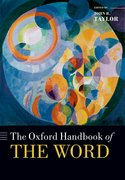 Cover for The Oxford Handbook of the Word
