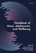 Cover for Handbook of Music, Adolescents, and Wellbeing