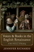 Cover for Voices and Books in the English Renaissance