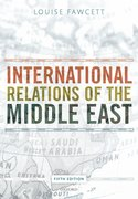 Cover for International Relations of the Middle East