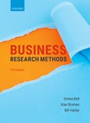 Cover for BUSINESS RESEARCH METHODS 5E - 9780198809876