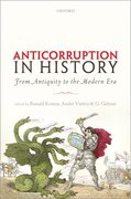 Cover for Anti-corruption in History
