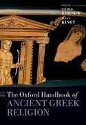 Cover for The Oxford Handbook of Ancient Greek Religion