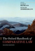 Cover for The Oxford Handbook of Comparative Law