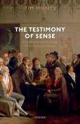 Cover for The Testimony of Sense