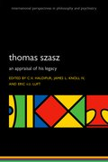 Cover for Thomas Szasz - 9780198813491
