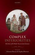 Cover for Complex Inferiorities - 9780198814061