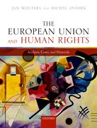 Cover for The European Union and Human Rights