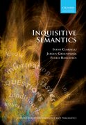 Cover for Inquisitive Semantics