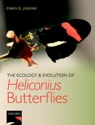 Cover for The Ecology and Evolution of <em>Heliconius</em> Butterflies
