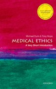 Cover for Medical Ethics: A Very Short Introduction