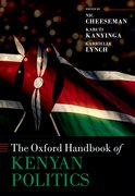 Cover for The Oxford Handbook of Kenyan Politics