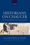 Cover for Historians on Chaucer
