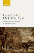 Cover for Dryden and Enthusiasm