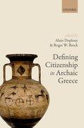 Cover for Defining Citizenship in Archaic Greece
