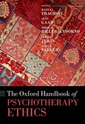 Cover for Oxford Handbook of Psychotherapy Ethics