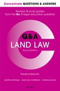 Cover for Concentrate Q&A Land Law 2e