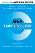 Cover for Concentrate Questions and Answers Equity and Trusts
