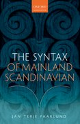 Cover for The Syntax of Mainland Scandinavian