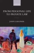 Cover for From Personal Life to Private Law - 9780198818755