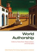 Cover for World Authorship