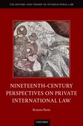 Cover for Nineteenth Century Perspectives on Private International Law