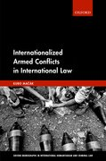 Cover for Internationalized Armed Conflicts in International Law