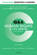 Cover for Concentrate Q&A Human Rights and Civil Liberties 2e