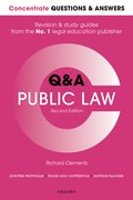 Cover for Concentrate Q&A Public Law 2e
