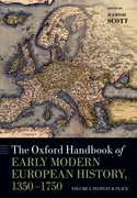 Cover for The Oxford Handbook of Early Modern European History, 1350-1750
